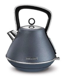 Morphy Richards Evoke Kettle Pyramid Blue Steel