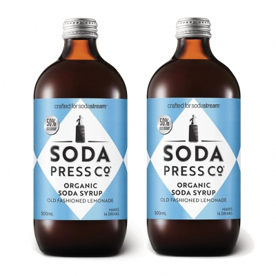 Soda Press Old Fashioned Lemonade 500Ml Syrup Twin