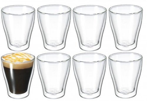 Avanti Modena Twin Wall 250Ml Glass Set Of 8