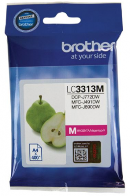 Brother Lc3313M Magenta   Cartridge High Yield