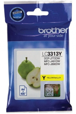 Brother Lc3313Y Yellow  Cartridge High Yield