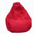 Studio Premium Red 200Lt Outdoor Beanbag Filled