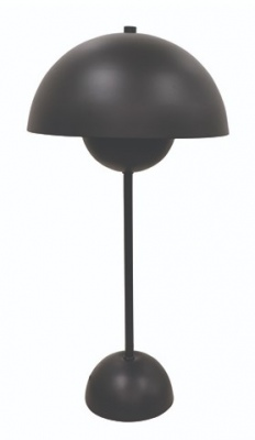 Collins Black Table Lamp 25X50H