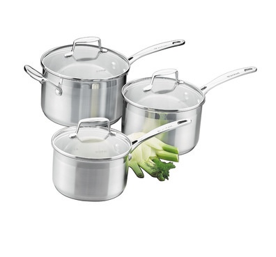 Scanpan Impact 3Pc Saucepan Set