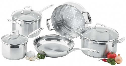 Scanpan Impact 5Pc Saucepan Set