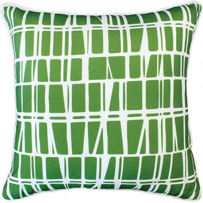 Lanai Green Outdoor Cushion 45X45CM Print