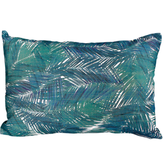 Areca Palm Green Cushion 35X50Cm Print