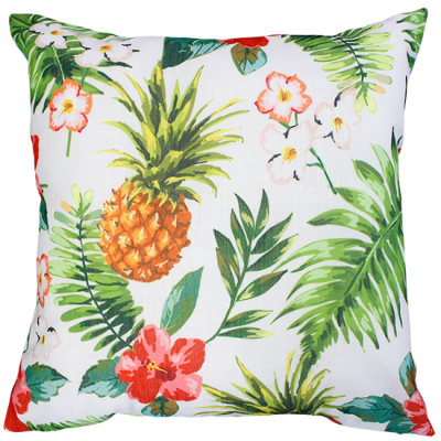 Tropical Flora Multi Cushion 45X45Cm Print