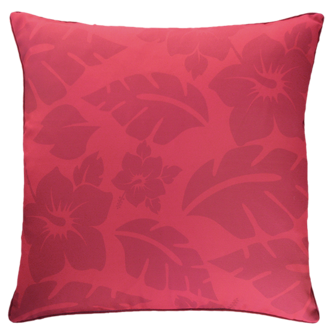 Hibiscus Red Outdoor Cushion 45X45Cm Print