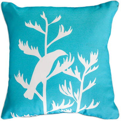 Perching Tui Outdoor Cushion 45X45Cm Scuba Blue