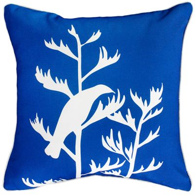 Perching Tui Outdoor Cushion 45X45CM Classic Blue