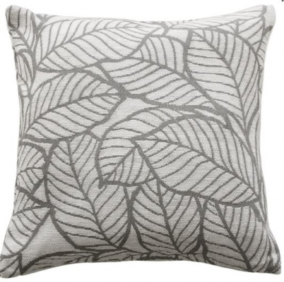 Chantilly Grey White Cushion 45X45Cm