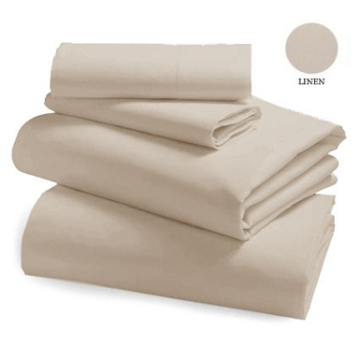 L&M 250 Thread Cotton/Poly Linen Single Sheet Set
