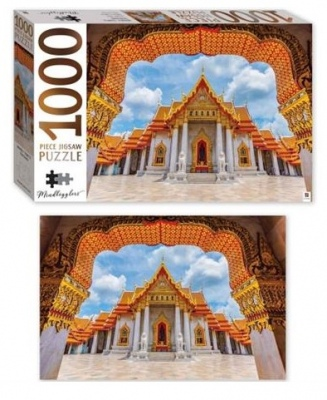 Mindbogglers 1000Pc Jigsaw Marble Temple Thailand