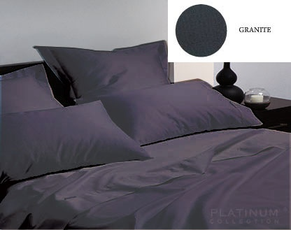 L&M 400 Thread Egyptian Cotton Granite Single Set