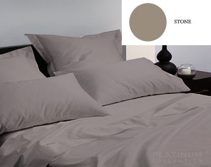 L&M 400 Thread Egyptian Cotton Stone Double Set
