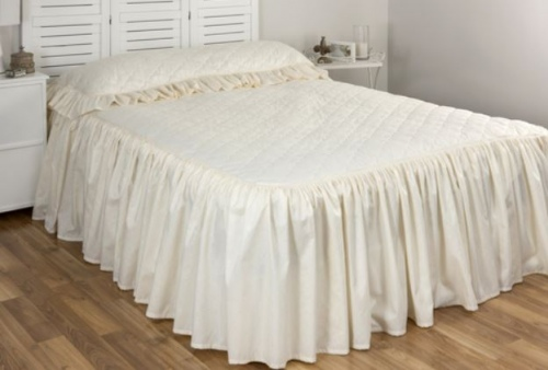 Cloud 9 Annebel Ivory Single Bedspread