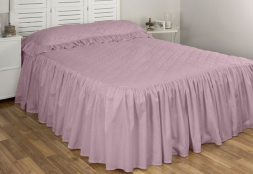 Cloud 9 Annebel Dusky Pink King Single Bedspread