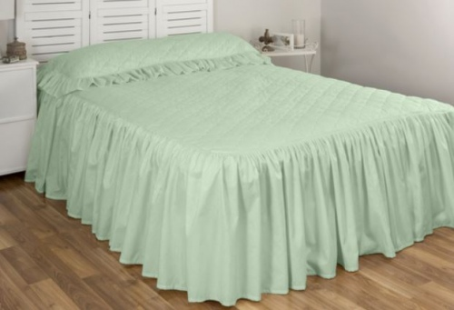 Cloud 9 Annebel Seagreen Single Bedspread