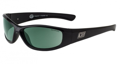 Dirty Dog Buzzer Black Green Pol Sunglasses