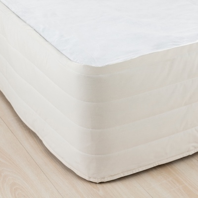 Cloud 9 Double Quilted Valance Pearl