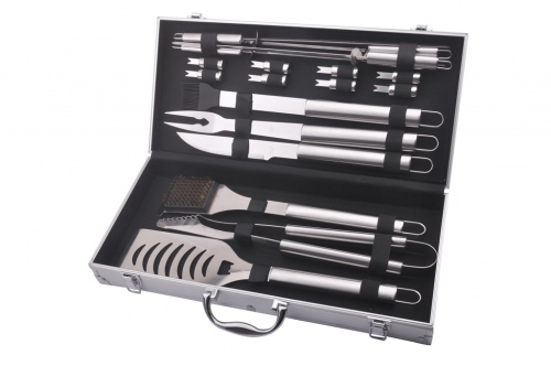 Masport Deluxe 18 Pce Stainless Steel Bbq Set