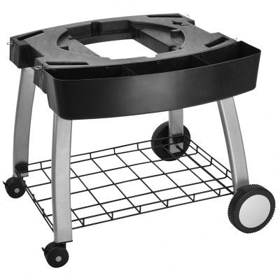 Ziegler & Brown Triple Grill Mobile Cart