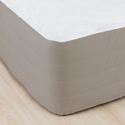 Cloud 9 King Quilted Valance Mocha
