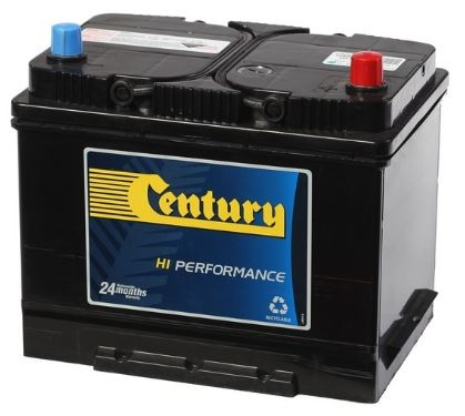 Century High Perf Battery 75D26Lmf