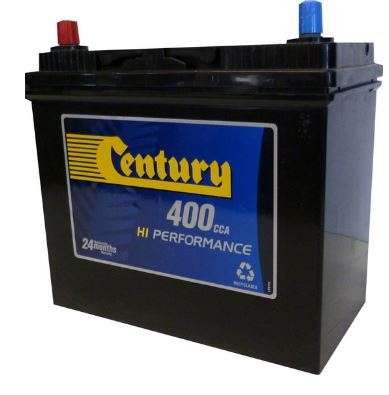 Century High Perf Battery 45B24Lsmf