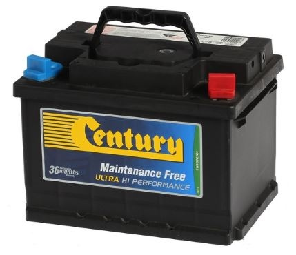 Century Din Ultra High Perf Battery Din55Fmf