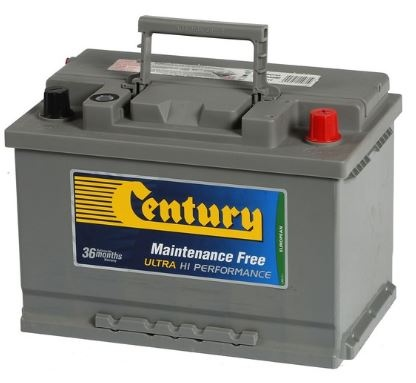 Century Din Ultra High Perf Battery Din66Zlagmf