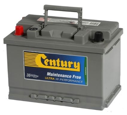 Century Din Ultra High Perf Battery Din66Zragmf