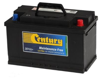Century Din Ultra High Perf Battery Din75Zlmf