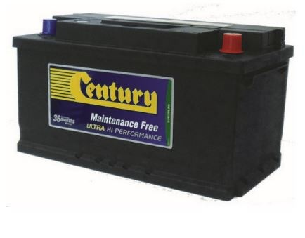 Century Din Ultra High Perf Battery Din74Zlmf
