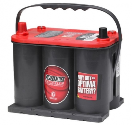 Century 25 Optima Red Top Battery