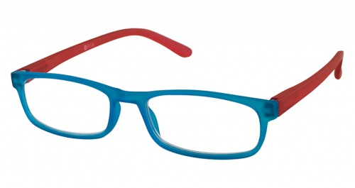 Vista Valeria Blue Red Reading Glasses +3.50