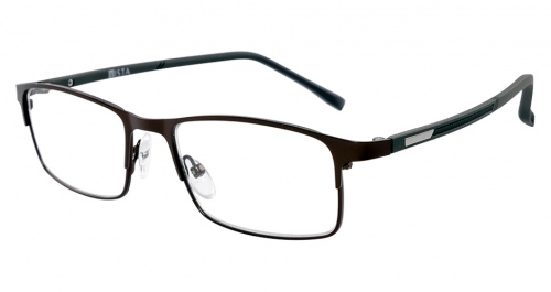 Vista Roope Gunmetal Reading Glasses +2.50