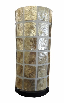 Gold Shell Lamp 31X14CM