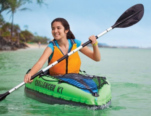 Intex Challenger K1 Inflatable Kayak 1 Person