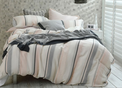 Lisboa Woven Cotton Queen Duvet Set