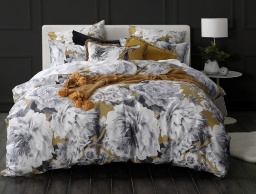 Reine 300Tc Cotton Sateen Queen Duvet Set Feb21