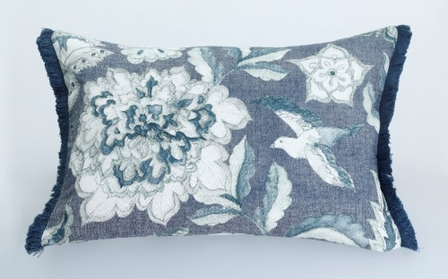 Katiana Linen Cotton Cushion 60X40Cm