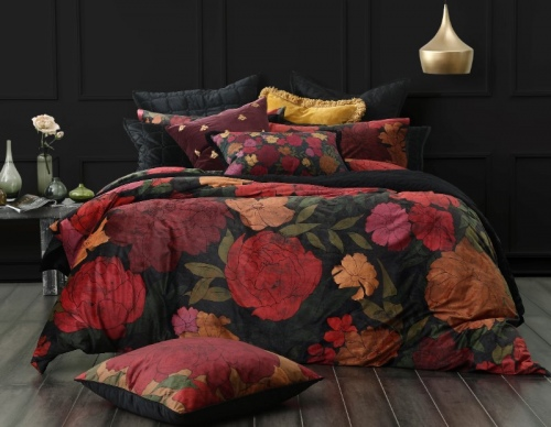 Sumi Poly Velvet Queen Duvet Set Feb21