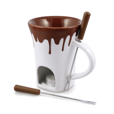 Swissmar Nostalgia 4Pc Chocolate Fondue Mug Set