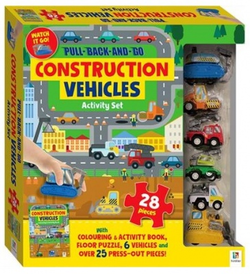 Pull Back And Go Construction Activity Set