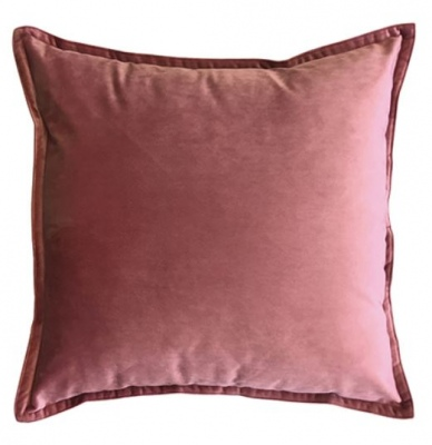 Mira Velvet Ashes Of Rose Cushion 50Cm