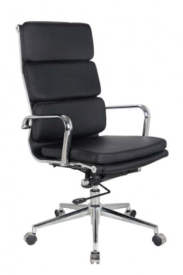 Executive Office Chair Black Pu