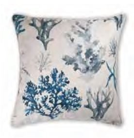 Whitehaven Blue Cushion 50Cm