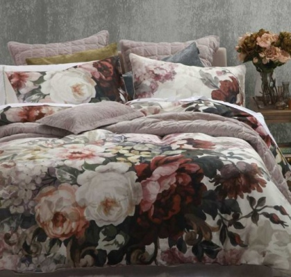 Lizzy 300 Thread Cotton Sateen King Duvet Set